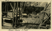 Lower Baker River dam construction 1925-07-07 Power House