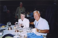 2007 Reunion--Jeanette Morse and Bob Morse at the Banquet