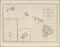 A Chart of the Sandwich Islands as Surveyed during the Visit of His Majesty's Sloop Discovery and Armed Tender Chatham.