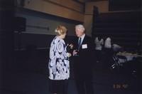 2007 Reunion--WWU President Karen Morse and WWU Provost Dennis Murphy at the Banquet