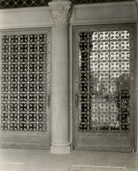 1928 Library: North Doors