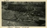 Lower Baker River dam construction 1925-05-31 Power House