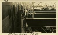Lower Baker River dam construction 1925-07-02 4th Floor Beams