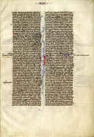 French Bible 13th Century [item 2985]