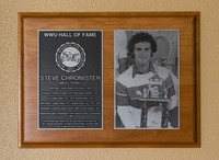Hall of Fame Plaque: Steve Chronister, Tennis, Class of 2011