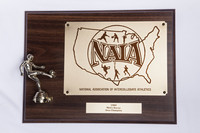 Soccer (Men's) Plaque: NAIA Area Champion, 1989