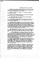 WWU Board minutes 1908 August