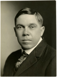 Studio portrait of C.E. Hanna