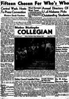 Western Washington Collegian - 1949 December 2