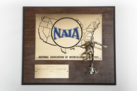 Track and Field (Men's) Plaque: NAIA District 1 Champions, 1985