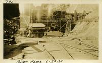 Lower Baker River dam construction 1925-06-20 Power House