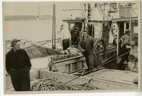 Crew on unidentified boat