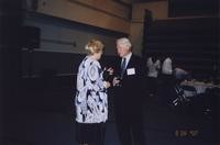 2007 Reunion--WWU President Karen Morse and WWU Provost Dennis Murphy at the Banquet