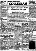 Western Washington Collegian - 1950 January 20
