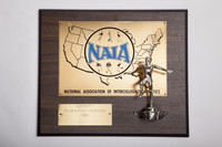 Track and Field (Men's) Plaque: NAIA District 1 Champions, 1981
