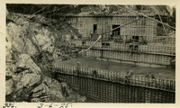 Lower Baker River dam construction 1925-03-06