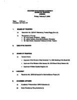 WWU Board minutes 2003 February