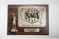 Basketball (Women's) Plaque: NAIA Bi-District Champion, 1988/1989