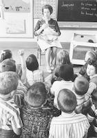 1965 Teaching First Graders About a Goose