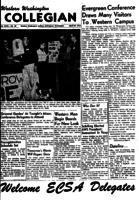 Western Washington Collegian - 1955 April 29