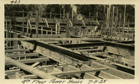 Lower Baker River dam construction 1925-07-03 4th Floor Power House