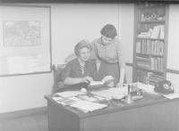 1960 Katherine Casanova With Student Teacher