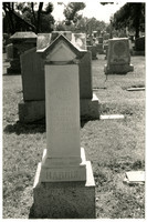 Bertha L. Harris tombstone