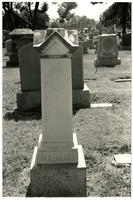 Bertha L. Harris tombstone