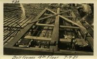 Lower Baker River dam construction 1925-07-09 Bolt Frames 4th Floor
