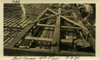 Lower Baker River dam construction 1925-07-09 Bolt Frames 4th Floor