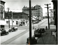 Intersection of Harrist Avenue and 11th Street, Fairhaven, Bellingham, Washington