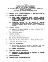 WWU Board minutes 1989 April