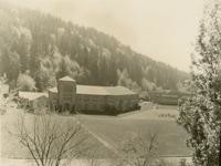 1960 Campus School Building and Playfield from Afar
