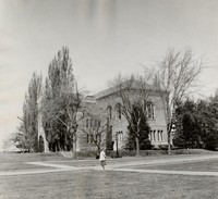 1955 Library: Northeast Facade