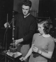 1949 Two Students in Organic Chemistry