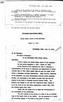 WWU Board minutes 1913 August