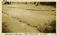 Lower Baker River dam construction 1925-06-21 Concrete Surface Run #140 El.2965