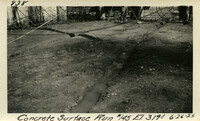 Lower Baker River dam construction 1925-06-26 Concrete Surface Run #145 El.3191