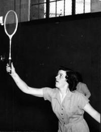 1948 Badminton:  Jean Wilson