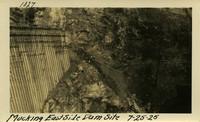 Lower Baker River dam construction 1925-07-25 Mucking East Side Dam Site