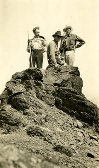 Three Hikers