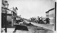 View looking south on Elk Street (now State Street), Bellingham