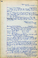 AS Board Minutes - 1921 August