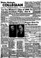 Western Washington Collegian - 1950 June 2