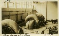 Lower Baker River dam construction 1925-10-15 Main Generator Room
