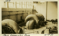 Lower Baker River dam construction 1925-10-15 Main Generator Room