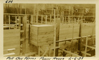 Lower Baker River dam construction 1925-06-06 Pull Box Forms Power House