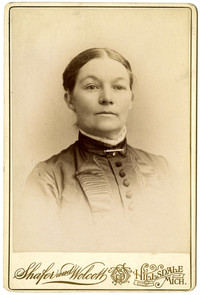 Studio portrait of Harriette Biery