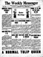Weekly Messenger - 1923 March 30