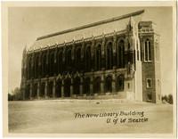 Exterior of Suzzallo Library, University of Washington campus